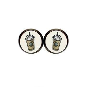 Frappucino Coffee Earrings